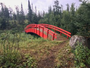 Cabin Lake Bridge. Image taken along the Cabin Lake Hiking Trail. Treaty 3 Territory.